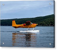 Float Plane Two Acrylic Print by Joshua House