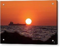 Floating Around The Sun Acrylic Print