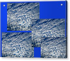 Floating Clouds Acrylic Print by Tina M Wenger