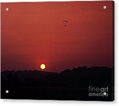 Acrylic Print featuring the photograph Floating In Space by Thomas Bomstad
