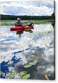 Floating In The Sky Acrylic Print