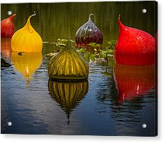 Floating Orbs Acrylic Print