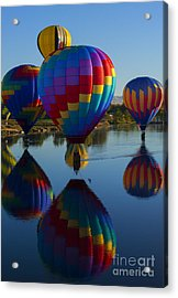 Floating Reflections Acrylic Print
