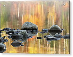 Floating Rocks Acrylic Print