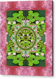 Floating World Acrylic Print by Bell And Todd