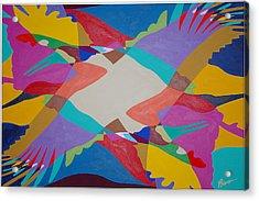 Flock Of Wings Acrylic Print