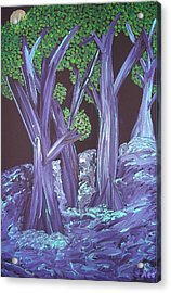 Flooded Forest Acrylic Print
