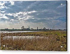 Floodplains Near Culemborg Acrylic Print