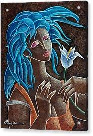 Flor Y Viento Acrylic Print