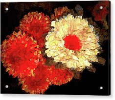 Flora Barcelona Acrylic Print