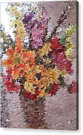 Floral Arrangement Acrylic Print by Don Phillips