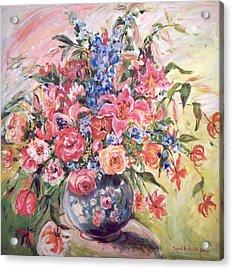 Floral Arrangement No. 2 Acrylic Print