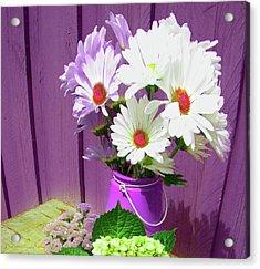 Floral Art 335 Acrylic Print