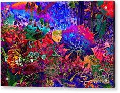 Floral Dream Of Summer Acrylic Print