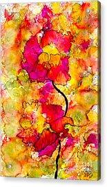 Floral Duet Acrylic Print