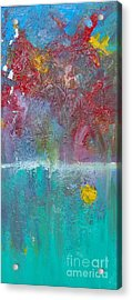 Floral Explosion Acrylic Print by Maria Curcic