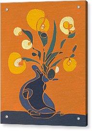 Floral Ix Acrylic Print