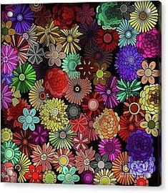 Floral Love Acrylic Print