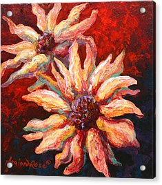 Floral Mini Acrylic Print by Marion Rose
