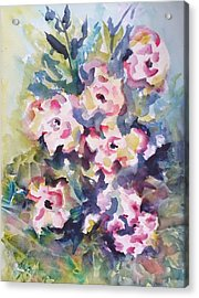 Floral Rhythm Acrylic Print