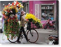 Floral Ride Acrylic Print