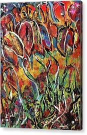 Floral Sensation Acrylic Print