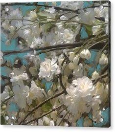 Floral01 Acrylic Print