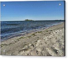 Florance Beach Acrylic Print