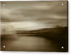 Florence, Arno River, Abstract Landscape Acrylic Print by Frank Tschakert