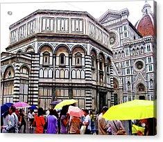 Florence Baptistery Acrylic Print