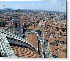 Florence Duomo Acrylic Print by Joseph R Luciano