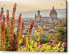 Florence In Summer Acrylic Print