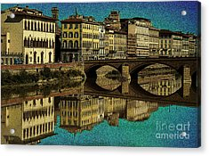 Florence Acrylic Print by Jeff Breiman