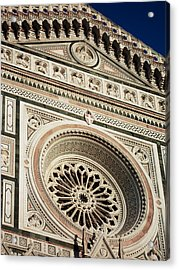Acrylic Print featuring the photograph Florence by Silvia Bruno