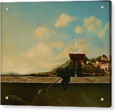 Florence Acrylic Print by Tjerk Reijinga