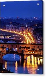 Florentine Strands Acrylic Print