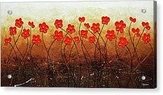 Flores De Mi Jardin Acrylic Print