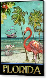 Acrylic Print featuring the photograph Florida Advertisement by Hanny Heim