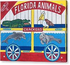 Florida Animal Crackers Acrylic Print