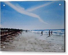 Florida Beach Day Acrylic Print