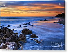 Florida Beach Sunset Acrylic Print