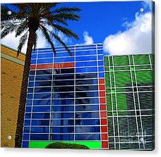 Florida Colors Acrylic Print by Susanne Van Hulst