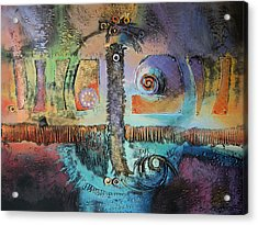 Florida Acrylic Print by Farhan Abouassali