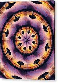 Acrylic Print featuring the digital art Florida Fun by Peg Urban