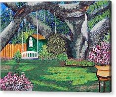Florida Garden Acrylic Print