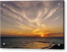 Florida Gulf Coast Sunset  -  Flgulfcoastsunset167514 Acrylic Print