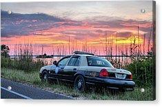 Florida Highway Patrol Acrylic Print by JC Findley