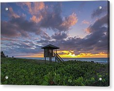 Florida Acrylic Print by Juergen Roth