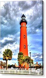 Florida Lighthouse Acrylic Print by William Havle