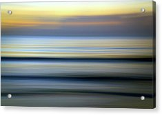 Florida Ocean Wave Abstract Acrylic Print